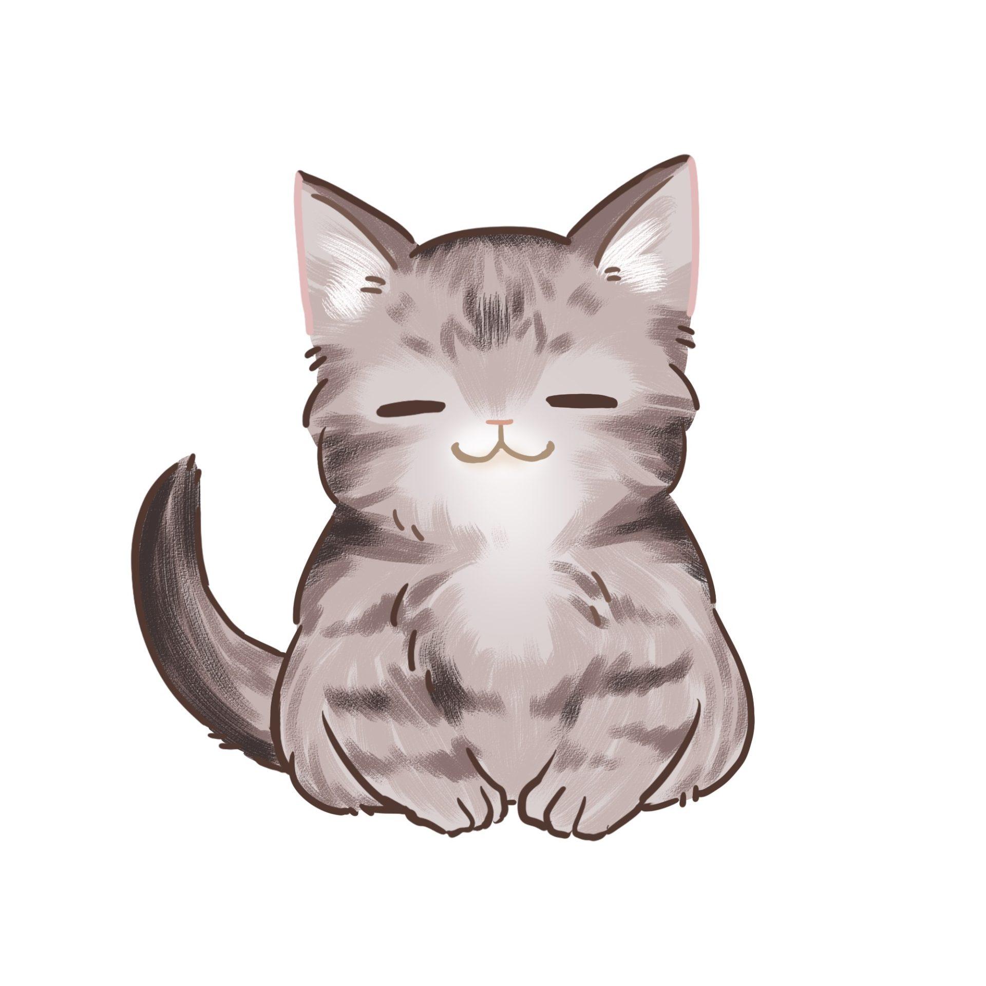 ひだまり号|お願い猫イラスト